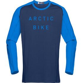 Norrøna Fjørå Equaliser Lightweight Long Sleeve Shirt Men Indigo Night/Hot Sapphire